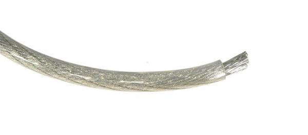 DLS PL50TS, 50 kvmm,sidabro spalvos maitinimo kabelis pagamintas iš vario be deguonies (OFC copper)