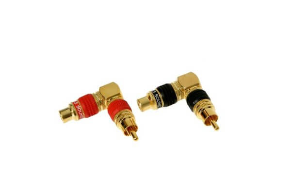 DLS RCA kampinis adapteris
